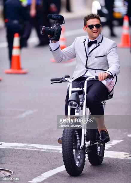 Casey Neistat attends the Heavenly Bodies Fashion The Catholic Imagination Costume Institute Gala at The Metropolitan Museum of Art on May 7 2018 in...