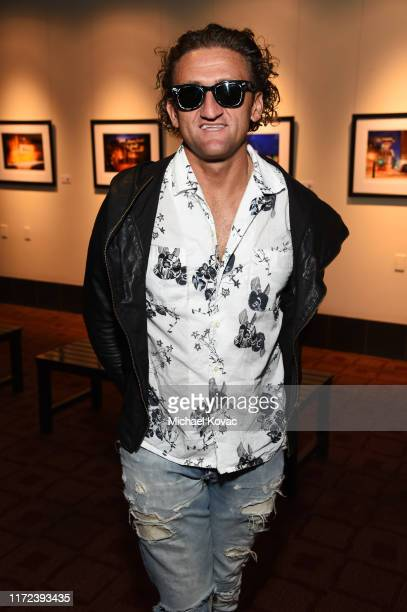 """Casey Neistat attends the Los Angeles Premiere of """"The Game Changers"""" Documentary at ArcLight Hollywood on September 04, 2019 in Hollywood,..."""