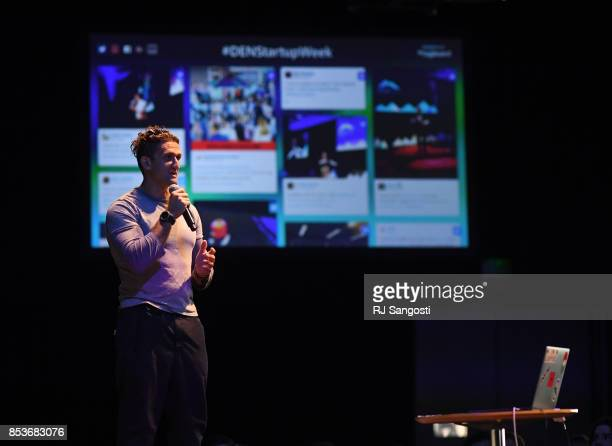 Casey Neistat film director producer developer entrepreneur and creator of popular YouTube videos is Denver Startup Week keynote speaker during a...