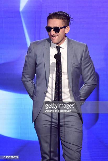 Casey Neistat speaks onstage during The 9th Annual Streamy Awards on December 13, 2019 in Los Angeles, California.