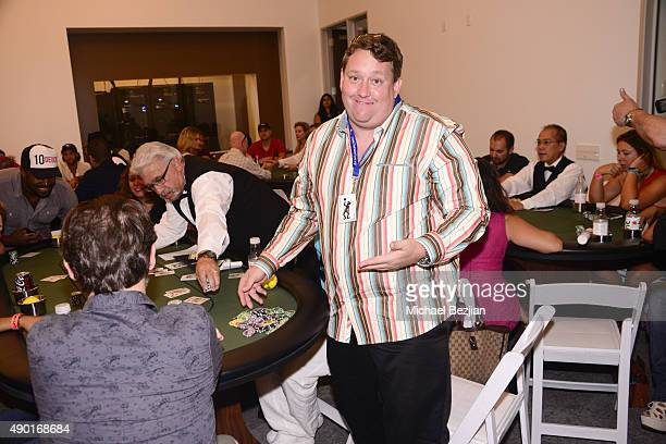 Casey Nezhoda attends The 2nd Annual The Peace Fund Celebrity Poker Tournament on September 26, 2015 in Playa Vista, California.