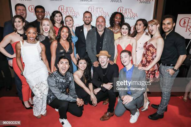 Casey Nicholaw and attendees during the The 2nd Annual Chita Rivera Awards Honoring Carmen De Lavallade John Kander And Harold Prince at NYU Skirball...