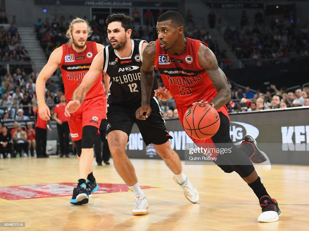 NBL Rd 19 - Melbourne v Perth : News Photo