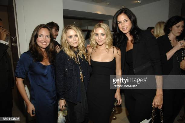 Casey Rodgers MaryKate Olsen Ashley Olsen and Sunni Spencer attend BERGDORF GOODMAN host MaryKate Olsen and Ashley Olsen for THE ROW Spring 2010...