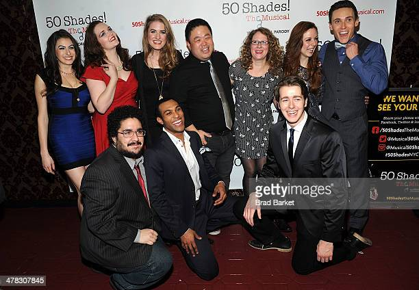 Casey Rogers Amber Petty Chloe Williamson Chris Grace Ashley Ward Kaitlyn Frotton Alec Varcas David Andeno Adam Hyndman and Tim Murray attend the '50...