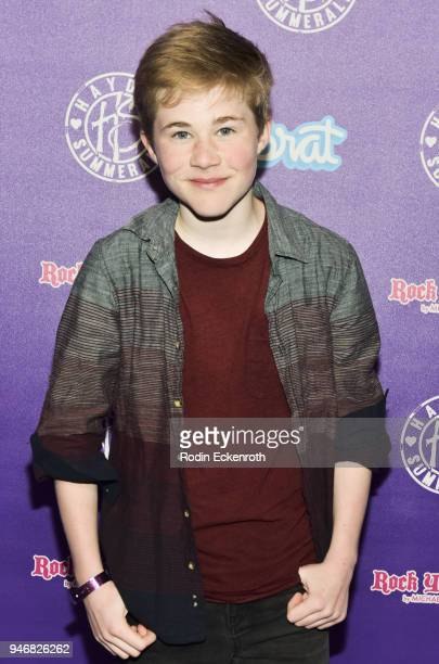 Casey Simpson attends Hayden Summerall's 13th Birthday Bash at Bardot on April 15 2018 in Hollywood California