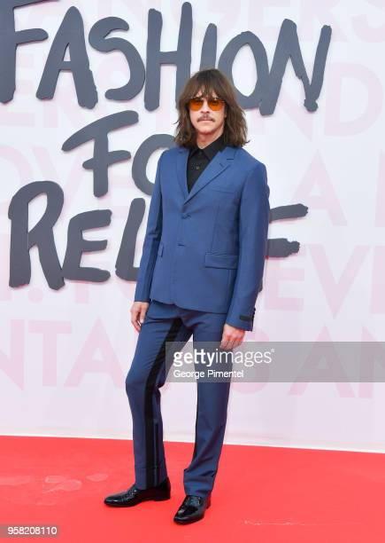 Casey Spooner attends Fashion For Relief Cannes 2018 during the 71st annual Cannes Film Festival at Aeroport Cannes Mandelieu on May 13 2018 in...