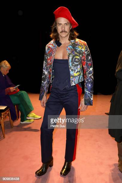 Casey Spooner attends the Viktor Rolf Haute Couture Spring Summer 2018 show as part of Paris Fashion Week on January 24 2018 in Paris France
