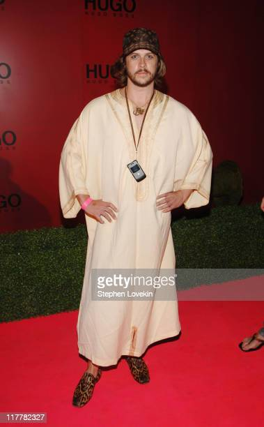 Casey Spooner during Hugo Boss Roof Garden Party at Roof Garden at 601 West 26th Street in New York City NY United States
