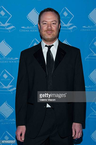 Casey Stone attends the 50th Annual CAS Awards From The Cinema Audio Society at Millennium Biltmore Hotel on February 22 2014 in Los Angeles...