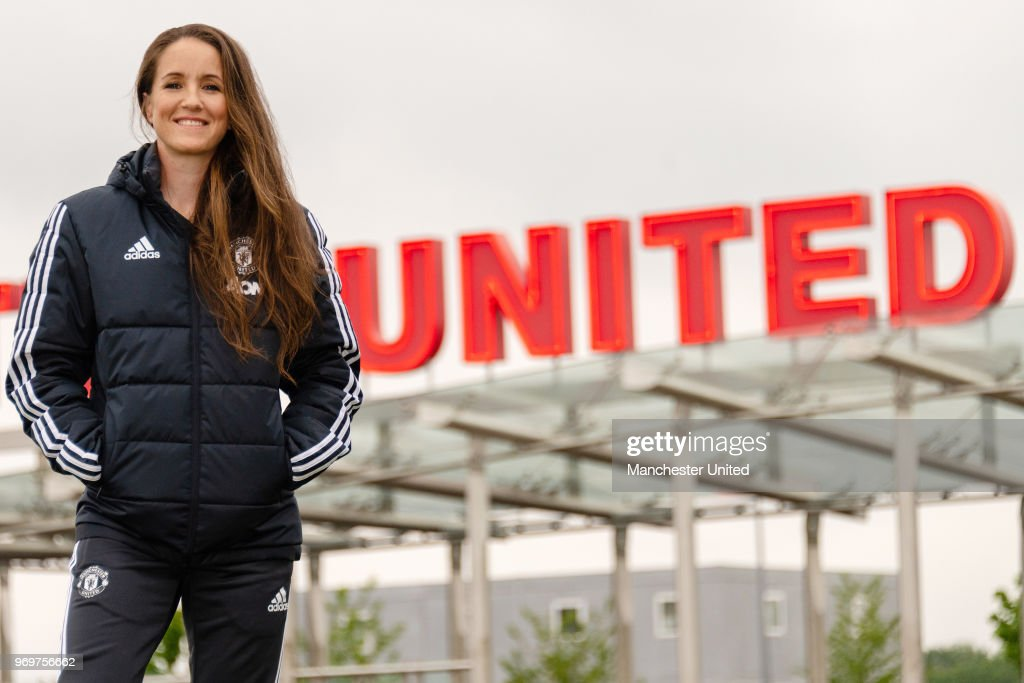 Casey Stoney MBE Appointed Head Coach of Manchester United Women : News Photo