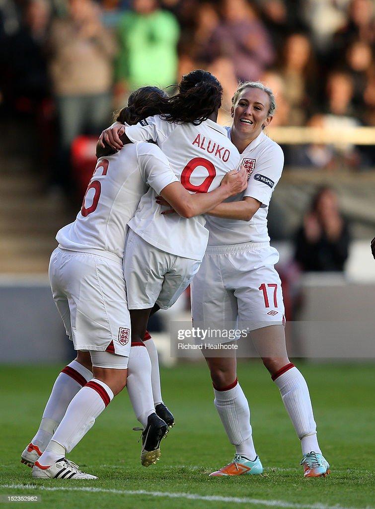 England v Croatia - UEFA European Women's 2013 Championship Qualifier
