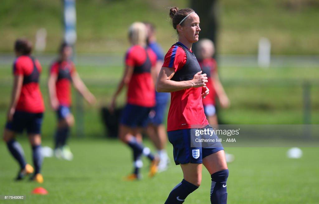 England Training Session - UEFA Women's Euro 2017 : News Photo