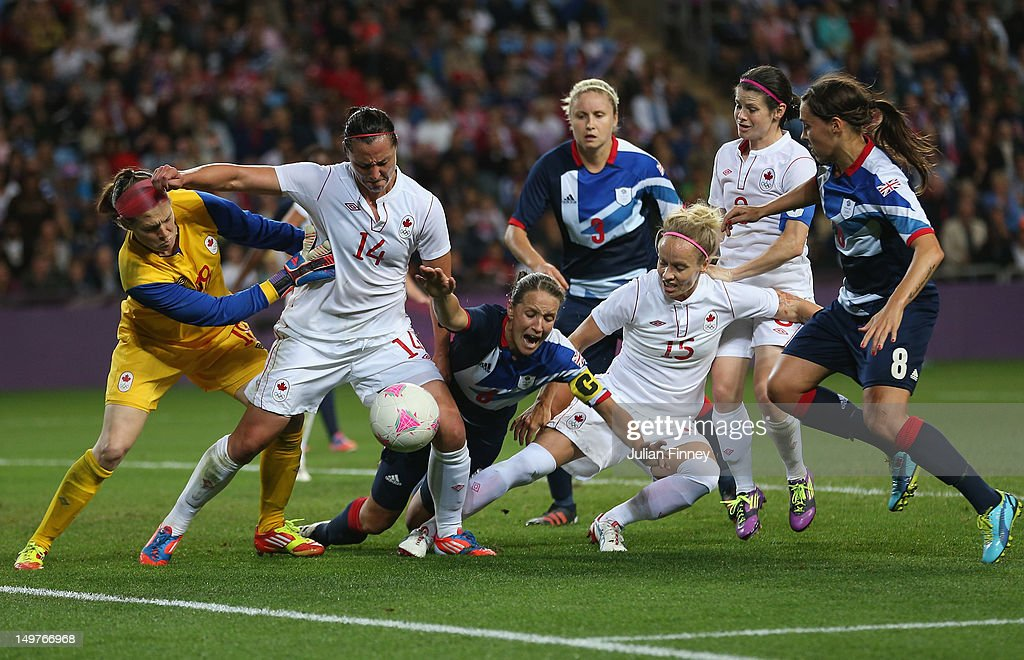 Olympics Day 7 - Women's Football Q/F - Match 22 - Great Britain v Canada