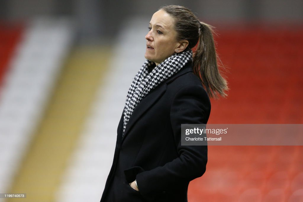 Manchester United Women v Brighton and Hove Albion Women - FA Women's Continental League Cup: Quarter-Final : News Photo