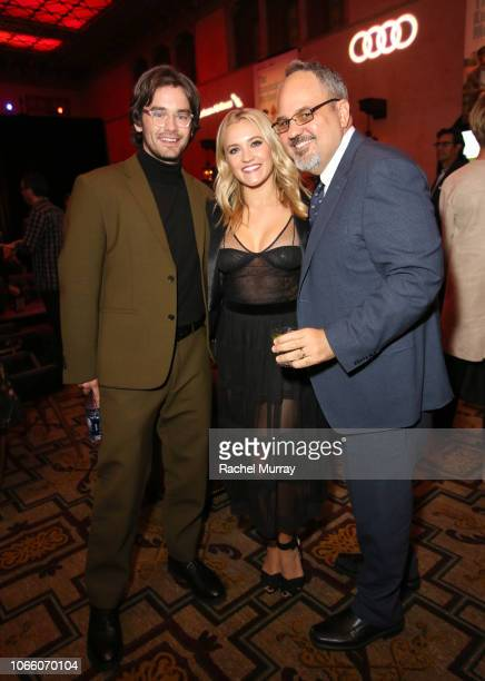 Casey Thomas Brown Emily Osment and Al Higgins attend the Los Angeles Premiere of 'The Kominsky Method ' at AFI Fest at The Roosevelt Hotel on...