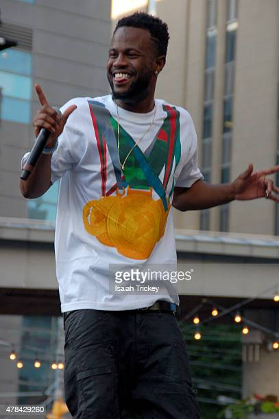Casey Veggies performs at the North By Northeast Music Festival at Yonge Dundas Square on June 21 2015 in Toronto Canada