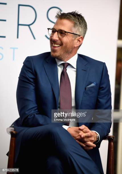Casey Wasserman speaks onstage at The Hollywood Reporter Power Lawyers Breakfast 2017 at Spago on April 26 2017 in Beverly Hills California