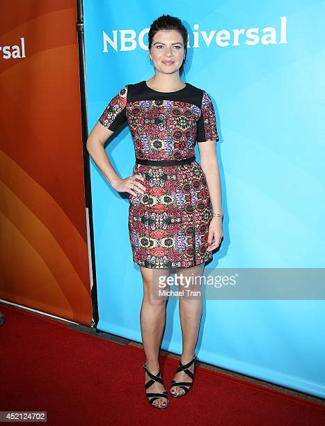 Casey Wilson arrives at NBCUniversal's 2014 Summer TCA Tour Day 1 held at The Beverly Hilton Hotel on July 13 2014 in Beverly Hills California