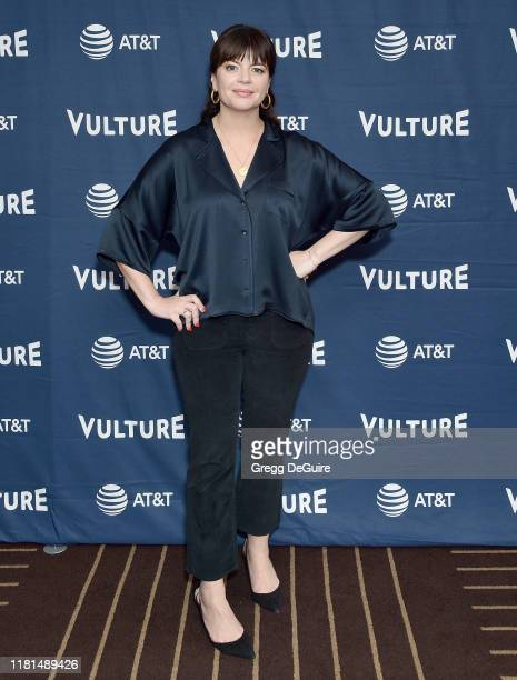 Casey Wilson arrives at the Vulture Festival Los Angeles 2019 Day 2 at Hollywood Roosevelt Hotel on November 10 2019 in Hollywood California