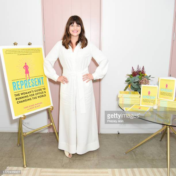 Casey Wilson attends June Diane Raphael's new book release Represent The Woman's Guide To Running For Office And Changing The World at The Jane Club...