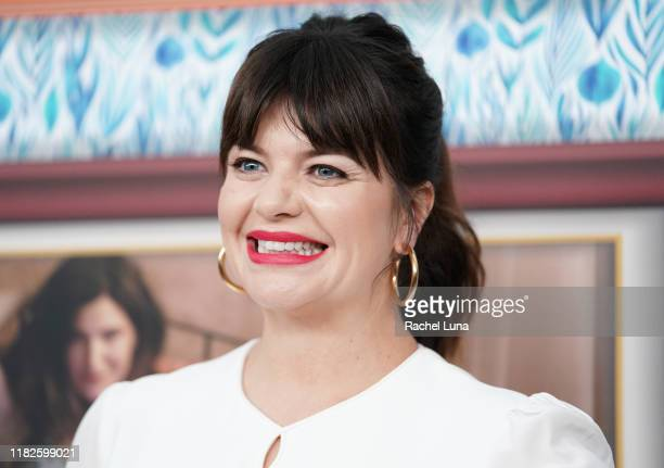 Casey Wilson attends the premiere of HBO's Mrs Fletcher at Avalon Hollywood on October 21 2019 in Los Angeles California