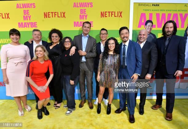 Casey Wilson Netflix Chief Content Officer Ted Sarandos Erin Westerman Michelle Buteau Nahnatchka Khan Scott Stuber Daniel Dae Kim Ali Wong Randall...