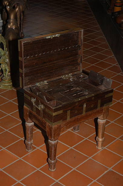 Cash box with Secret compartments, Antique furnitures of Jew town in  mattancherry, Fort Kochi - Cash Box With Secret Compartments, Antique Furnitures Of Jew Town In