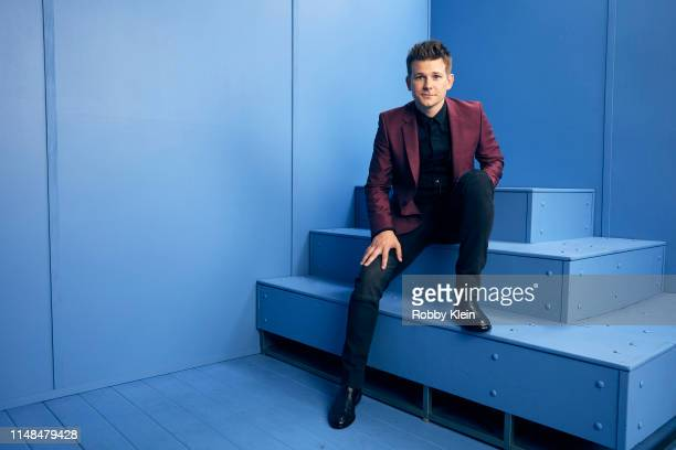 Cash Campbell poses for a portrait during the 2019 CMT Music Awards at Bridgestone Arena on June 5 2019 in Nashville Tennessee