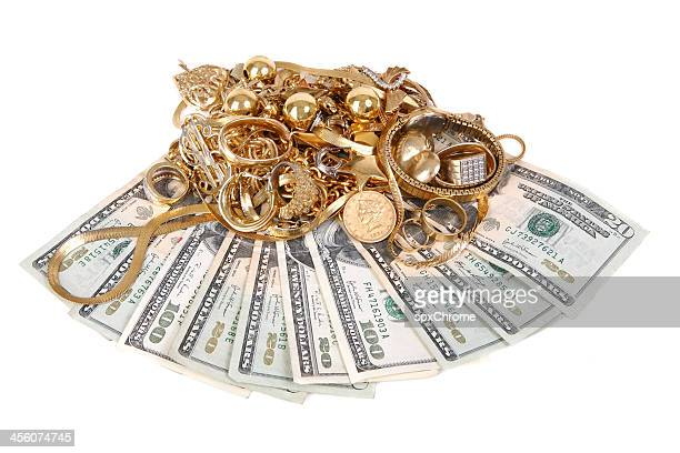 cash for gold - scrap metal stock photos and pictures