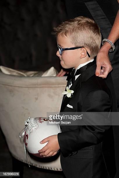 Cash Kurtis attends Fletcher Jones III And Dalene Kurtis Wedding at Beverly Hills Hotel on March 2 2013 in Beverly Hills California