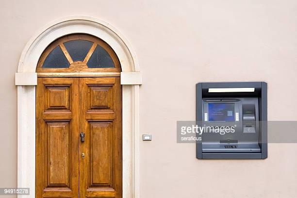 cash machine - arch stock pictures, royalty-free photos & images
