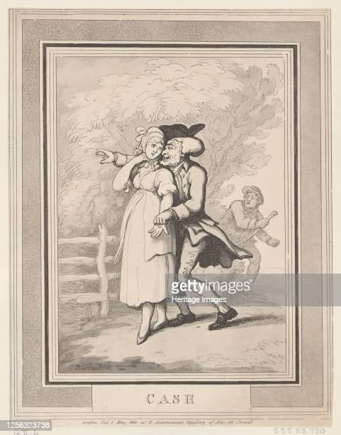 Cash May 1 1800 Artist Thomas Rowlandson