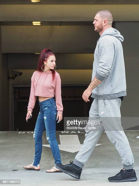 'Cash Me Ousside' girl Danielle Bregoli is seen on May 09 2017 in Los Angeles California