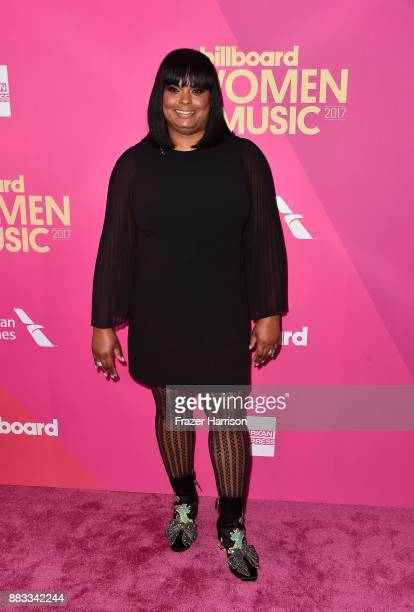 Cash Money Records VP of Marketing Promotions Katina Bynum attends Billboard Women In Music 2017 at The Ray Dolby Ballroom at Hollywood Highland...