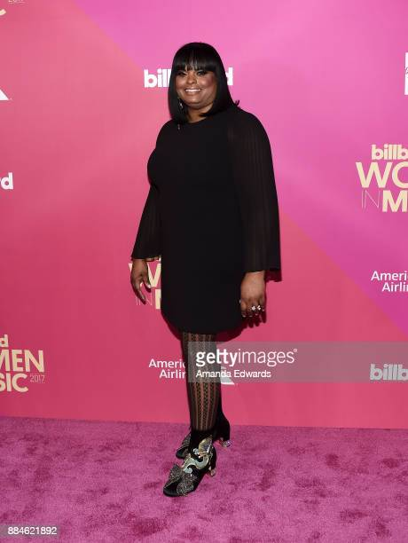 Cash Money/Republic Records Group SVP Katina Bynum arrives at Billboard Women In Music 2017 at The Ray Dolby Ballroom at Hollywood Highland Center on...