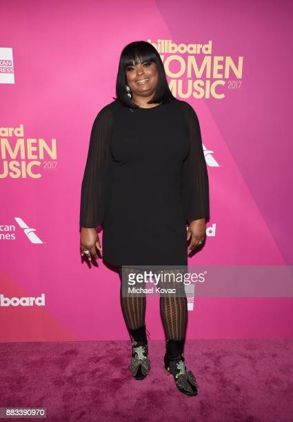 Cash Money/Republic Records Group SVP Katina Bynum attends Billboard Women In Music 2017 at The Ray Dolby Ballroom at Hollywood Highland Center on...