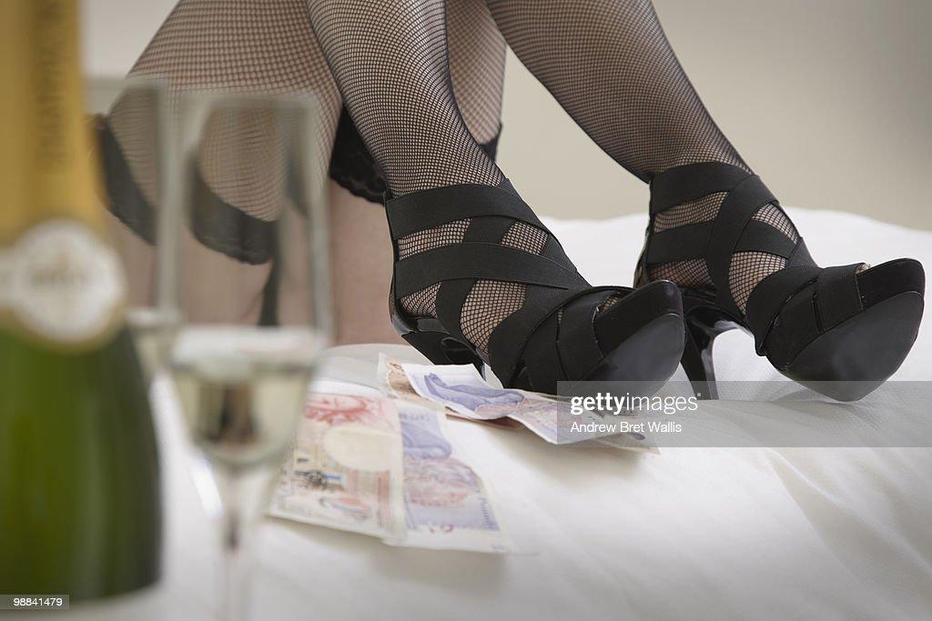 Stockings n heels