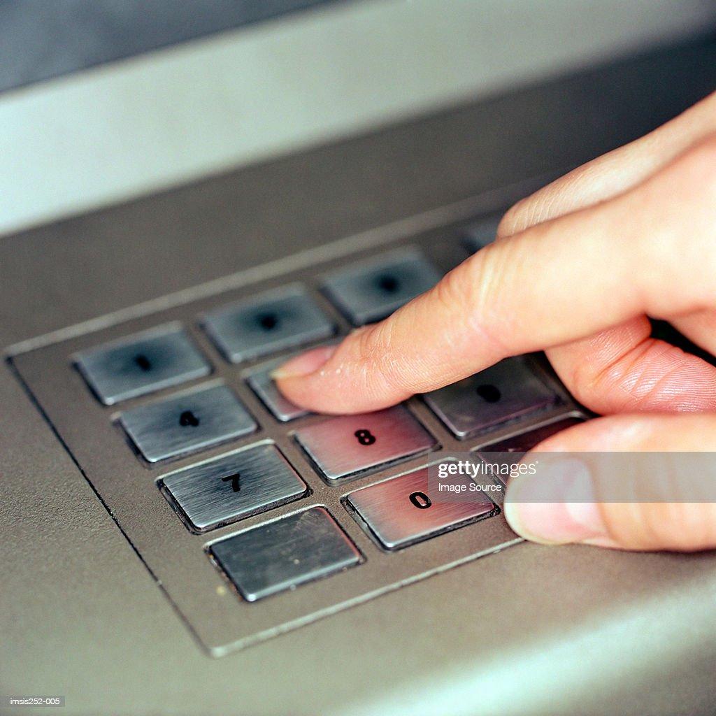 Cash point : Stock Photo