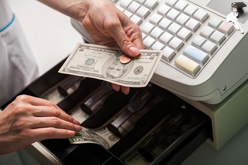 Cash register. 849316120