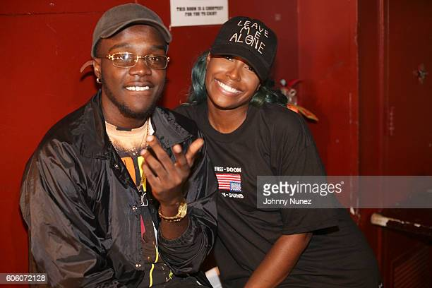 Cash Sinatra and Scottie Beam attend Hot 97 Whose Next at SOB's on September 15 2016 in New York City
