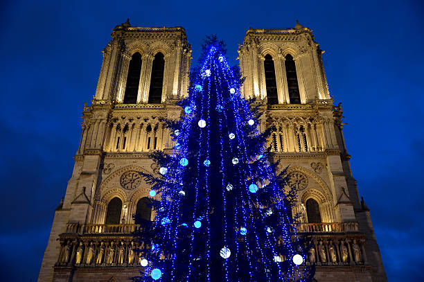 Russia offers Notre Dame Christmas Tree Pictures | Getty Images