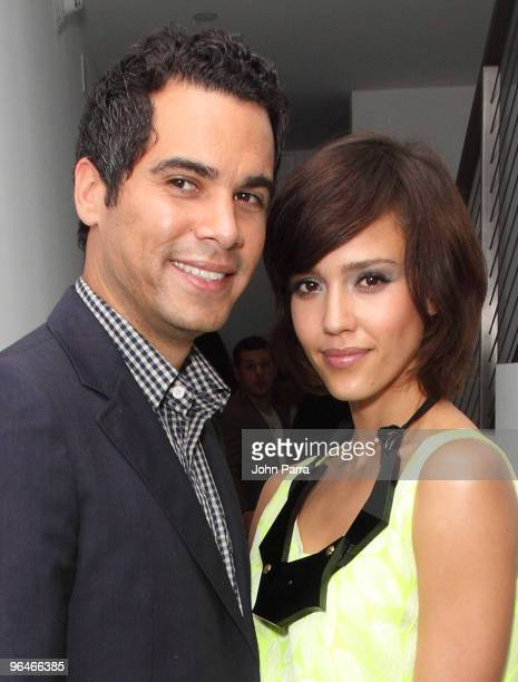 Cash Warren and Jessica Alba attend the Superbowl XLIV with Audi at the W Hotel - South Beach on February 5, 2010 in Miami Beach, Florida.