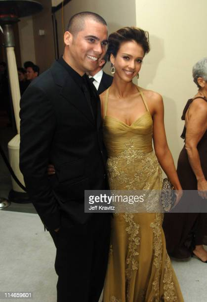 Cash Warren and Jessica Alba, presenter during The 78th Annual Academy Awards - Governor's Ball at Kodak Theatre in Hollywood, California, United...
