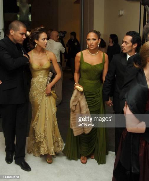 Cash Warren Jessica Alba Jennifer Lopez and Marc Anthony *exclusive*