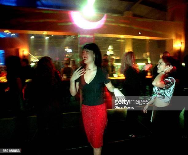 Shark Club.Dance.1201.GK –Christen Wang age 26 , as she dances at the Shark Club, Costa Mesa. Reporter:Zan dubin