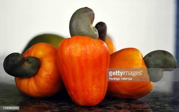 Cashew fruits