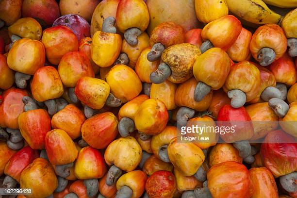 cashew nuts for sale at market in old town - cashew stock pictures, royalty-free photos & images