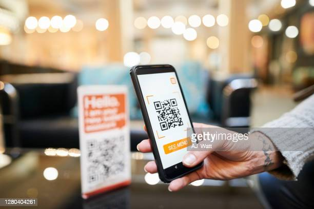cashless digital wallet payment - menu stock pictures, royalty-free photos & images