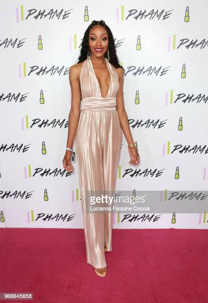 Cashmere Nicole attends PHAME Expo 2018 on June 3 2018 in Los Angeles California